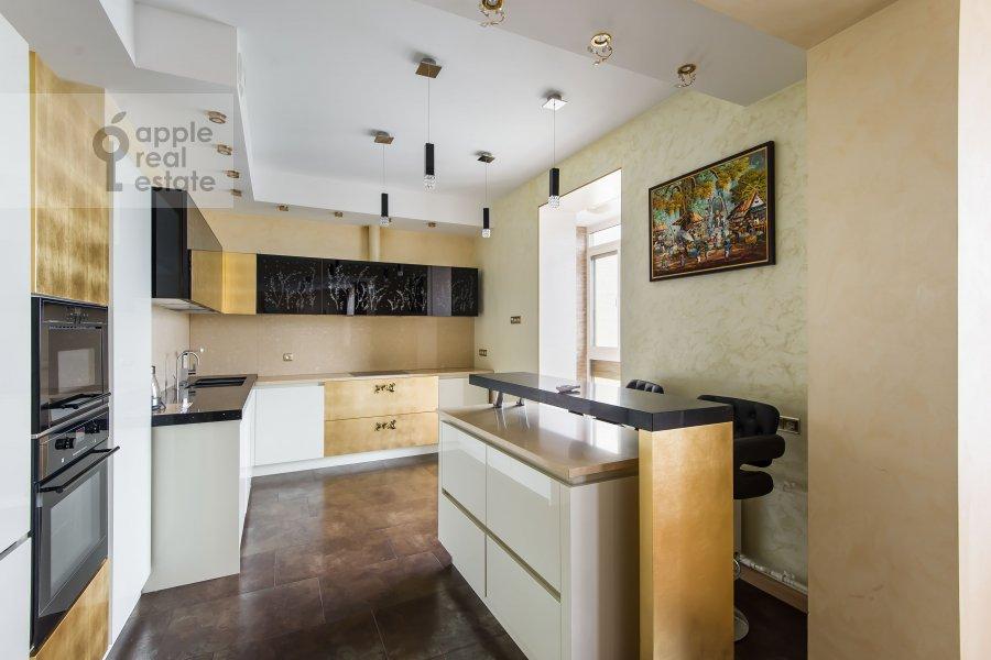 Kitchen of the 3-room apartment at Michurinskiy prospekt 3