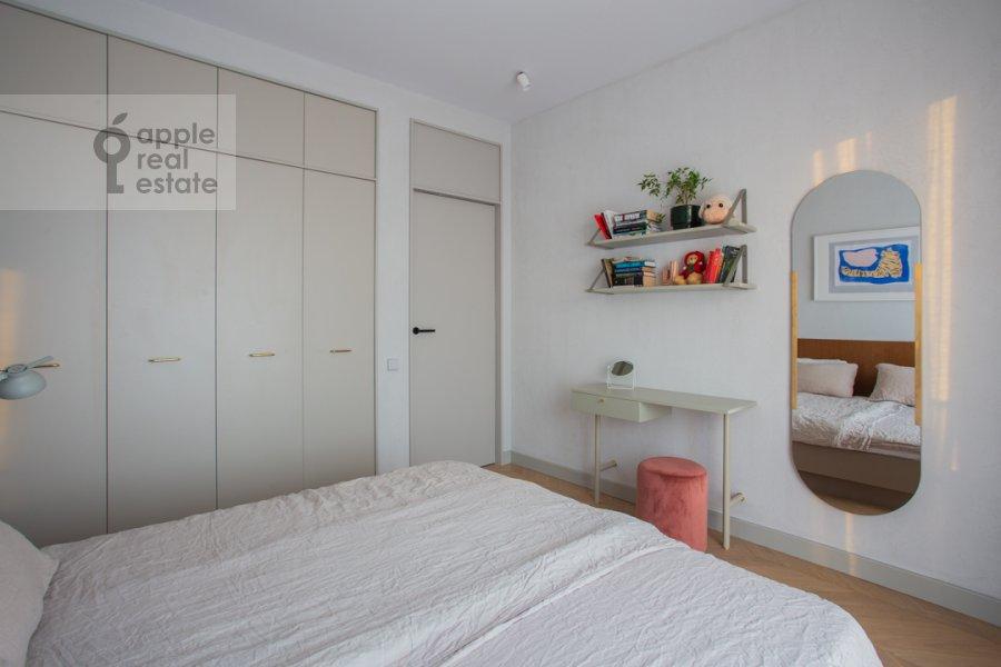 Спальня в 2-комнатной квартире по адресу Черняховского 19к3