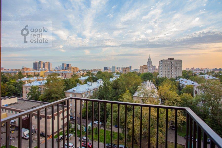 Балкон / Терраса / Лоджия в 2-комнатной квартире по адресу Черняховского 19к3
