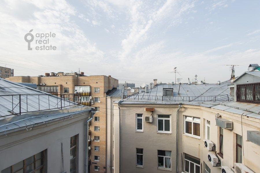 View from the window of the 3-room apartment at Starokonyushennyy pereulok 5/14