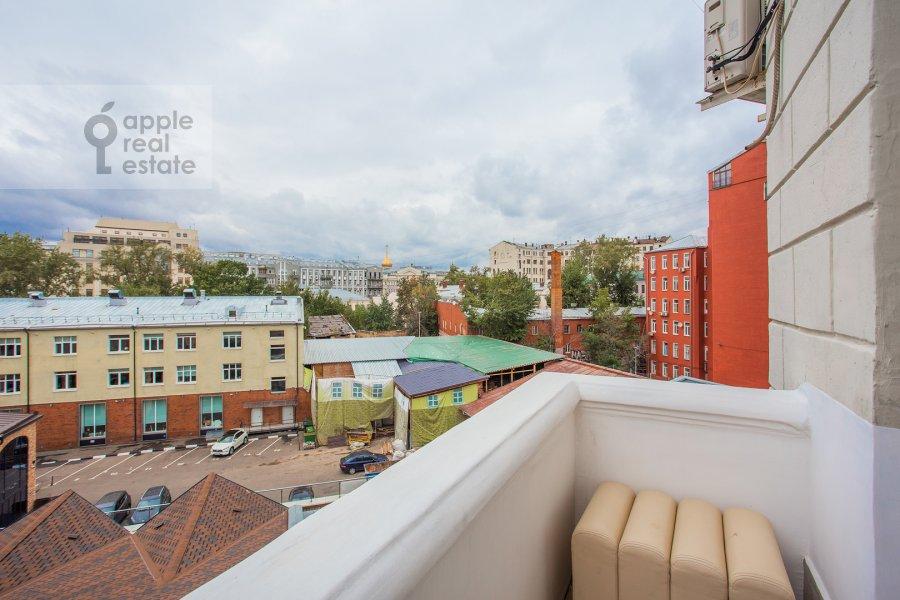 Балкон / Терраса / Лоджия в 4-комнатной квартире по адресу Мясницкая улица 17С2