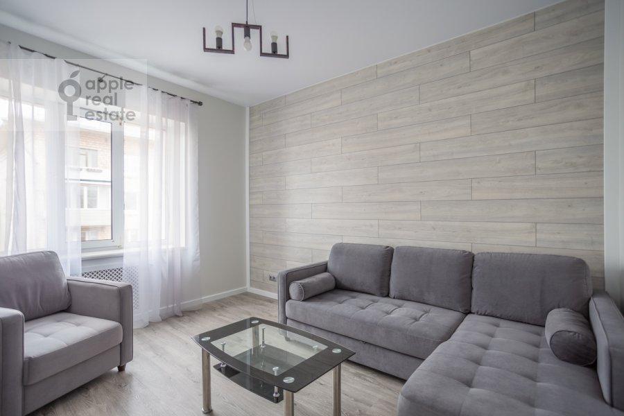 Гостиная в 3-комнатной квартире по адресу 3-я Тверская-Ямская улица 12с3