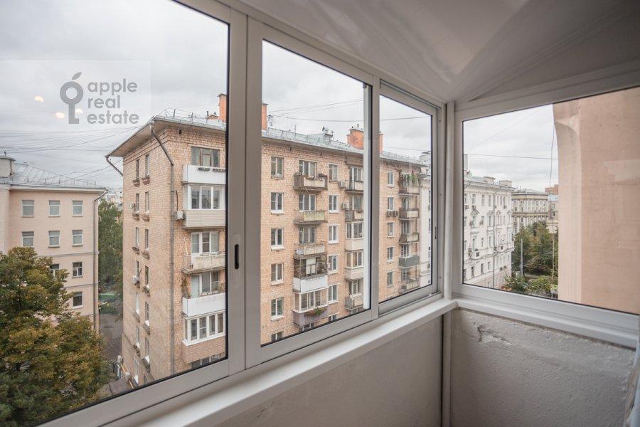 Балкон / Терраса / Лоджия в 3-комнатной квартире по адресу 3-я Тверская-Ямская улица 12с3