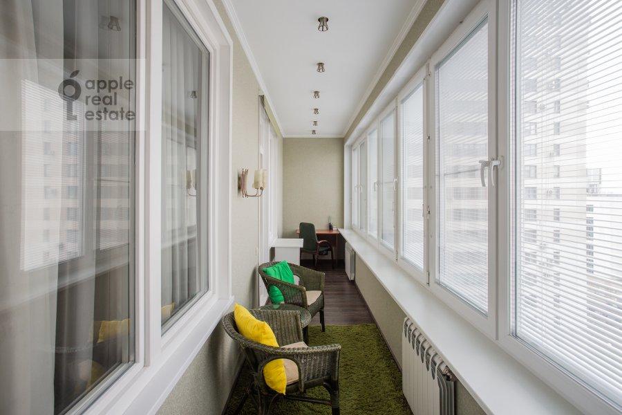 Балкон / Терраса / Лоджия в 2-комнатной квартире по адресу Ленинградское шоссе 25к2