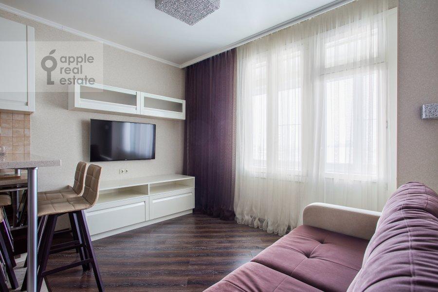 Гостиная в 2-комнатной квартире по адресу Ленинградское шоссе 25к2