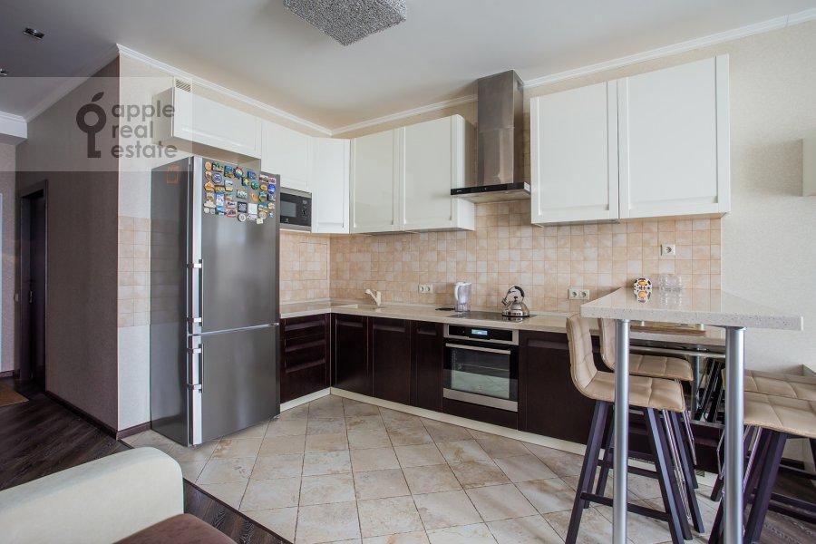 Кухня в 2-комнатной квартире по адресу Ленинградское шоссе 25к2