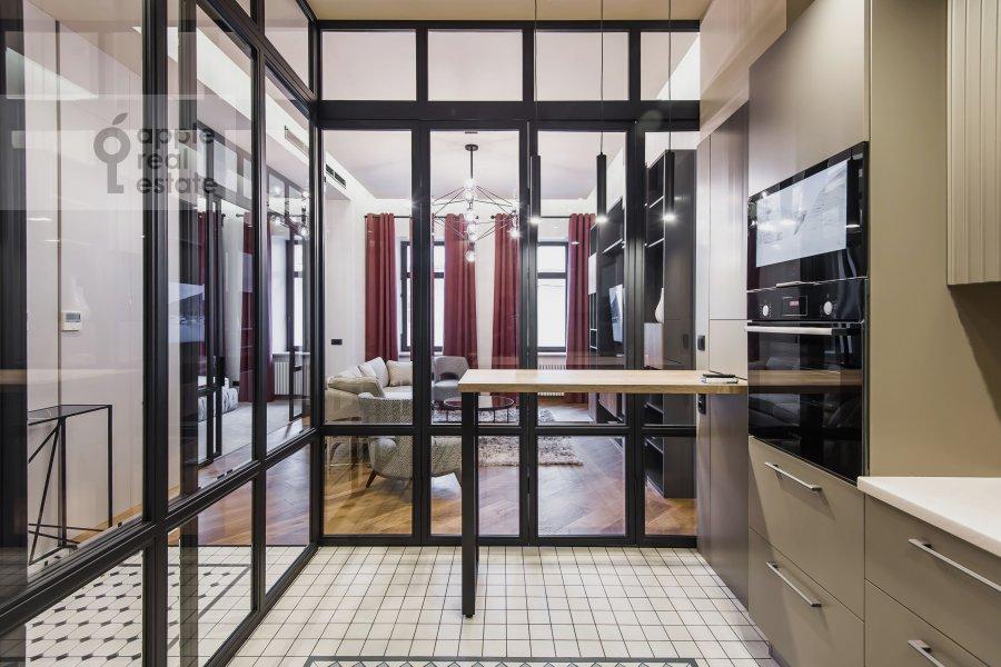 Kitchen of the 2-room apartment at Povarskaya ulitsa 8/1k1