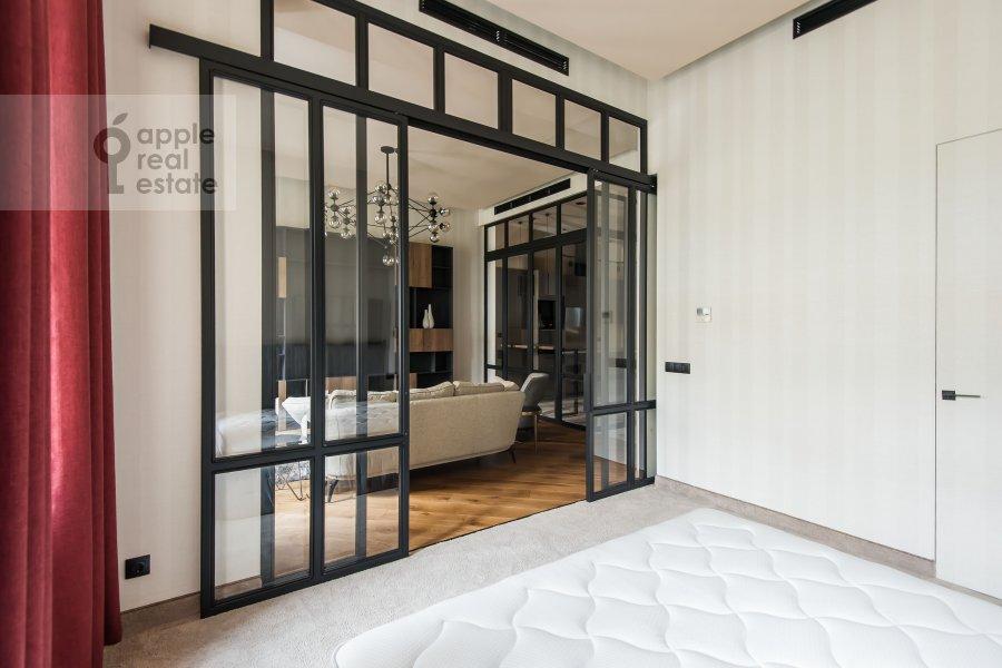 Bedroom of the 2-room apartment at Povarskaya ulitsa 8/1k1