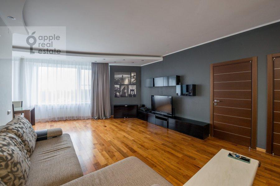 Гостиная в 3-комнатной квартире по адресу улица Твардовского 14к3