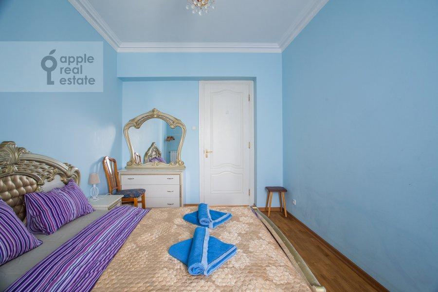 Bedroom of the 3-room apartment at Tverskaya ul. 4