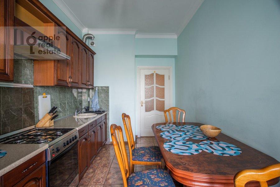 Kitchen of the 3-room apartment at Tverskaya ul. 4