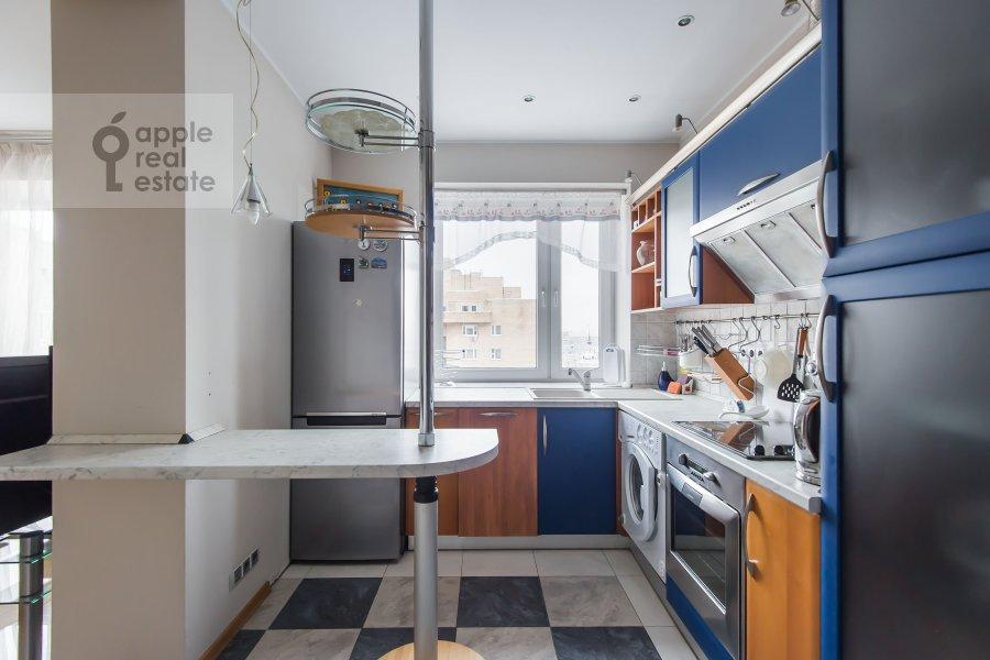Кухня в 3-комнатной квартире по адресу Таганская ул. 44