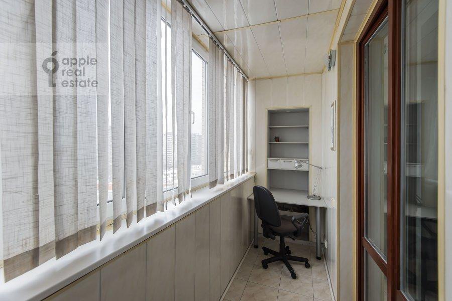 Балкон / Терраса / Лоджия в 3-комнатной квартире по адресу Таганская ул. 44