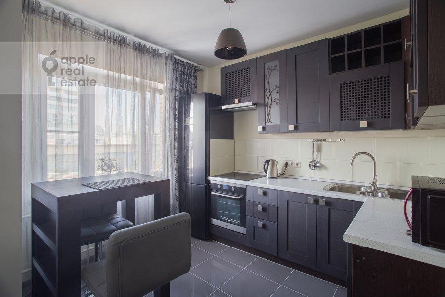 Kitchen of the 2-room apartment at Dmitrovka Malaya ul. 24/2