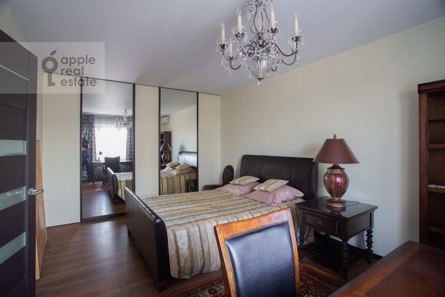 Bedroom of the 2-room apartment at Dmitrovka Malaya ul. 24/2