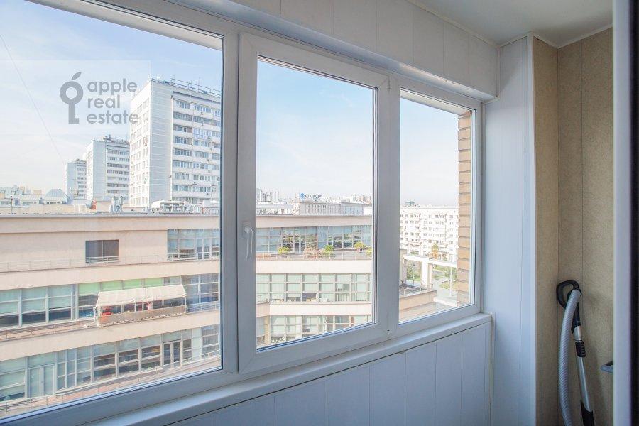 Balcony / Terrace / Loggia of the 2-room apartment at Dmitrovka Malaya ul. 24/2