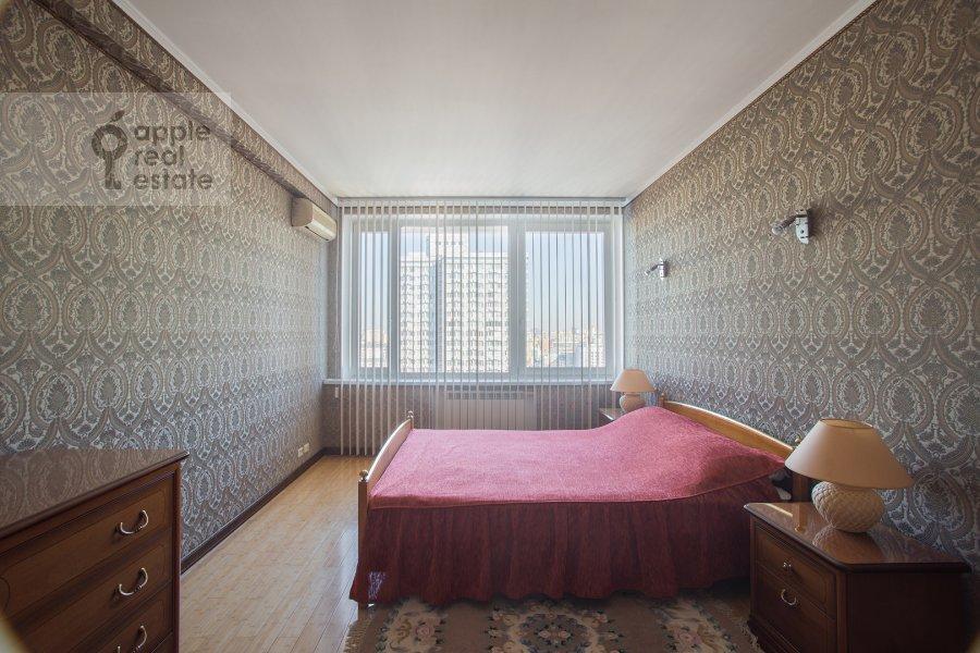 Спальня в 2-комнатной квартире по адресу Арбат Новый ул. 10