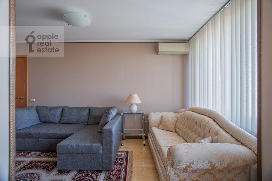 Гостиная в 2-комнатной квартире по адресу Арбат Новый ул. 10