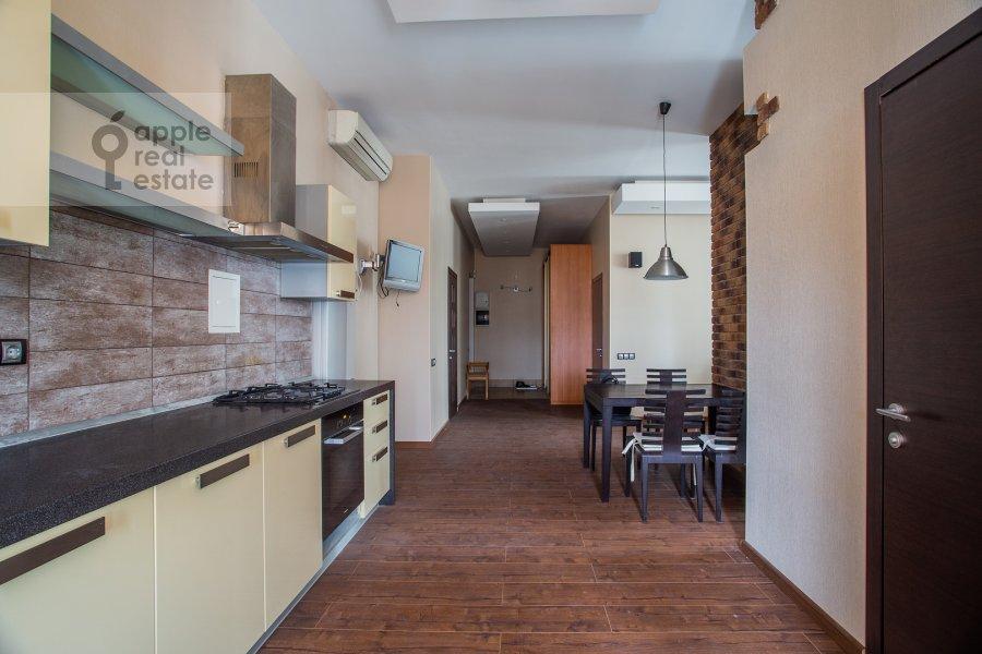 Kitchen of the 3-room apartment at Sadovnicheskaya ul. 66