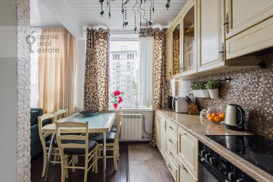 Kitchen of the 3-room apartment at Arbat Novyy ul. 26