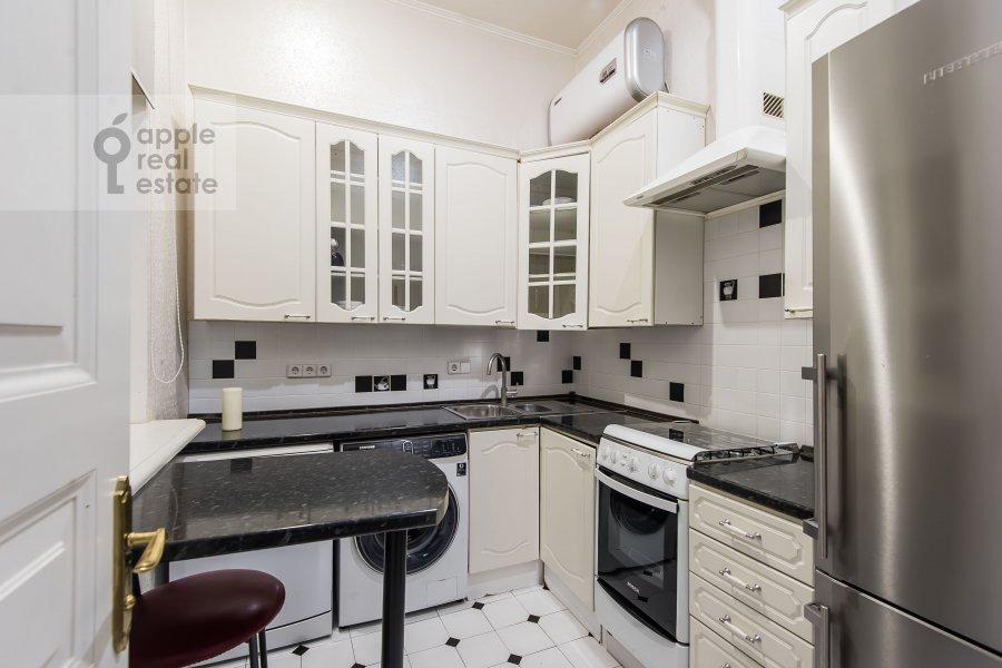 Kitchen of the 3-room apartment at Dmitrovka Malaya ul. 29