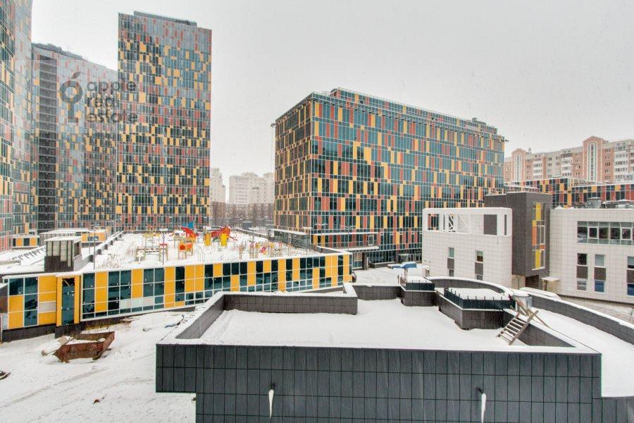 Вид из окна в 4-комнатной квартире по адресу Шаболовка 23к3