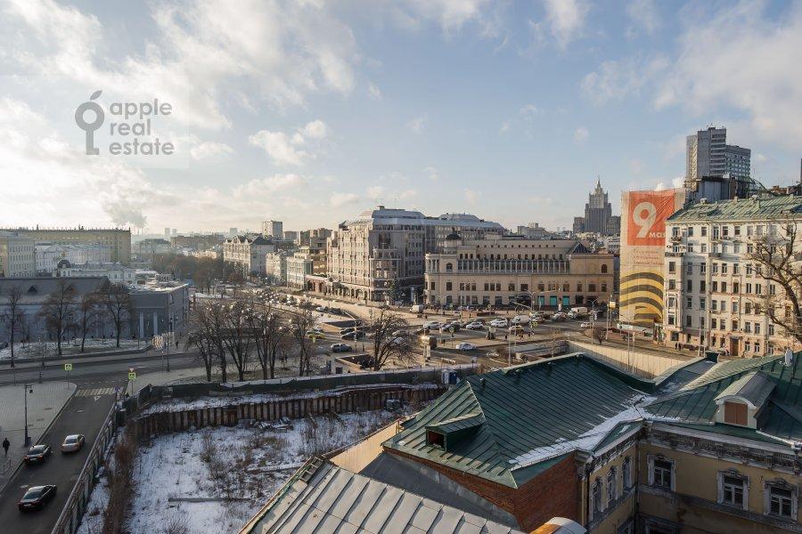 Вид из окна в 5-комнатной квартире по адресу Калашный пер. 4/1