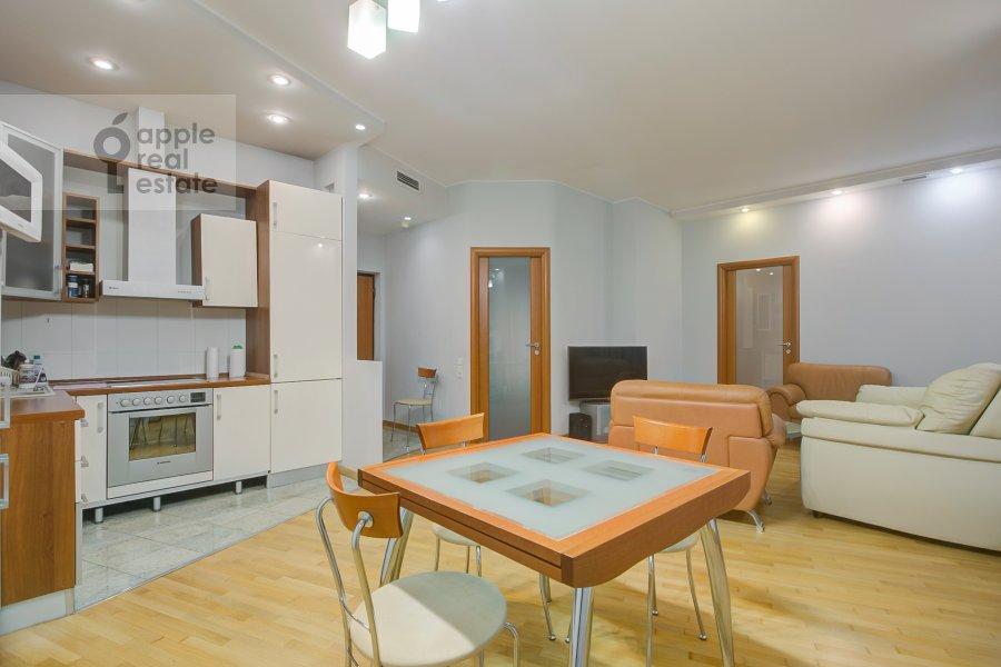 Kitchen of the 2-room apartment at Staromonetnyy pereulok 18