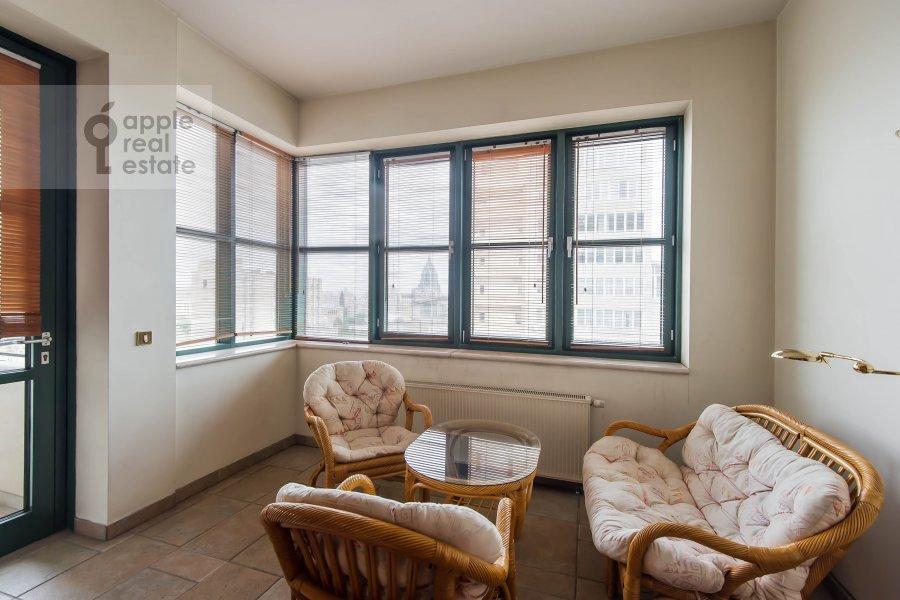 Балкон / Терраса / Лоджия в 3-комнатной квартире по адресу Лесная ул. 6с1