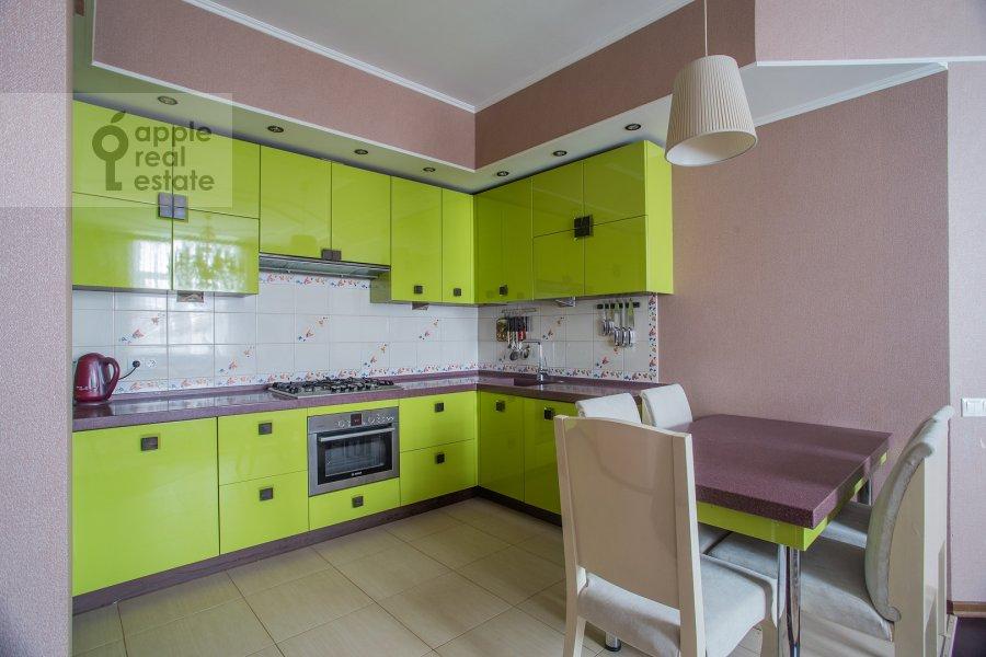 Kitchen of the 3-room apartment at Prospekt mira 118