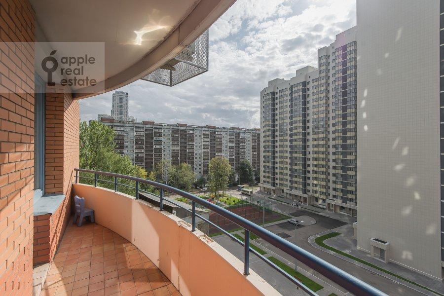 Балкон / Терраса / Лоджия в 4-комнатной квартире по адресу Ленинский пр-т. 128