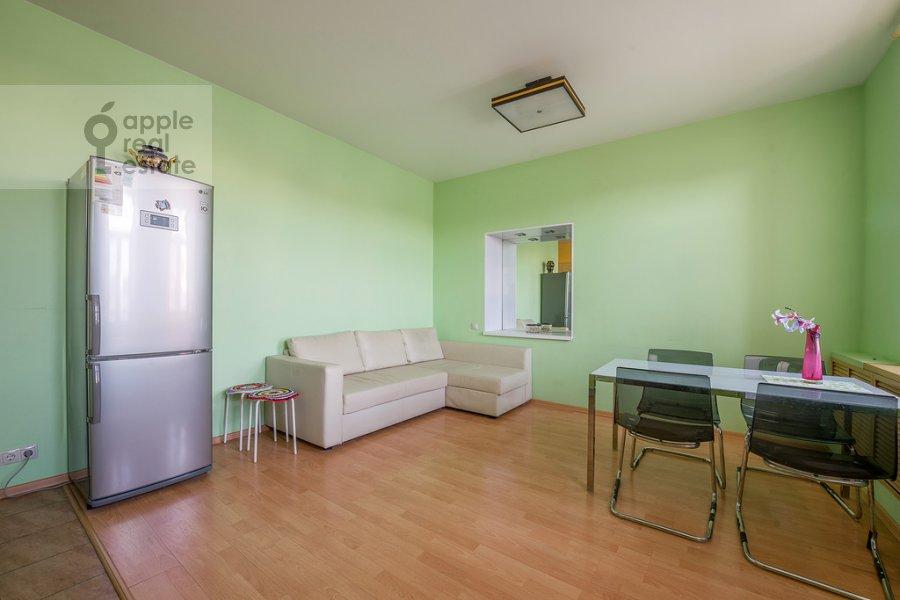Living room of the 3-room apartment at Tverskaya ulitsa 29k2