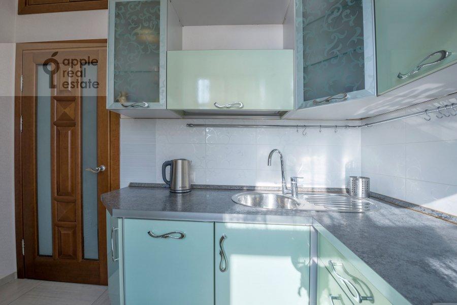 Kitchen of the 3-room apartment at Smolenskaya naberezhnaya 5/13