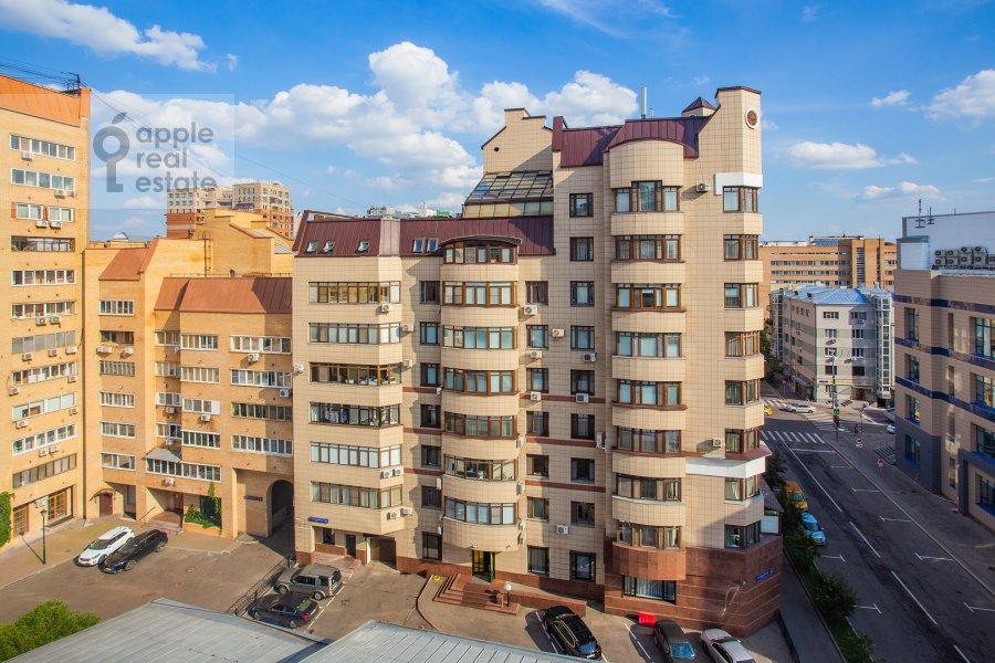 Photo of the house of the 6-room apartment at 3-ya Tverskaya-Yamskaya ulitsa 44