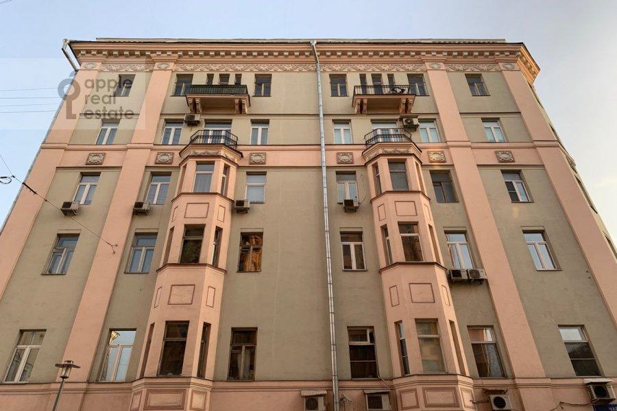 Photo of the house of the 2-room apartment at Tverskaya-Yamskaya 1-ya ul. 18