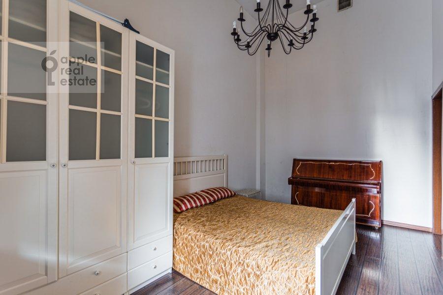 Bedroom of the 2-room apartment at Tverskaya-Yamskaya 1-ya ul. 18