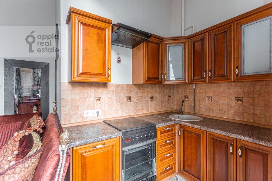 Kitchen of the 2-room apartment at Tverskaya-Yamskaya 1-ya ul. 18