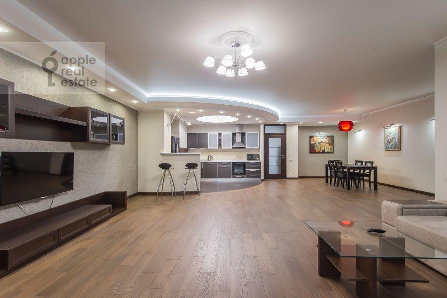 Гостиная в 3-комнатной квартире по адресу Вернадского пр-т. 92к1