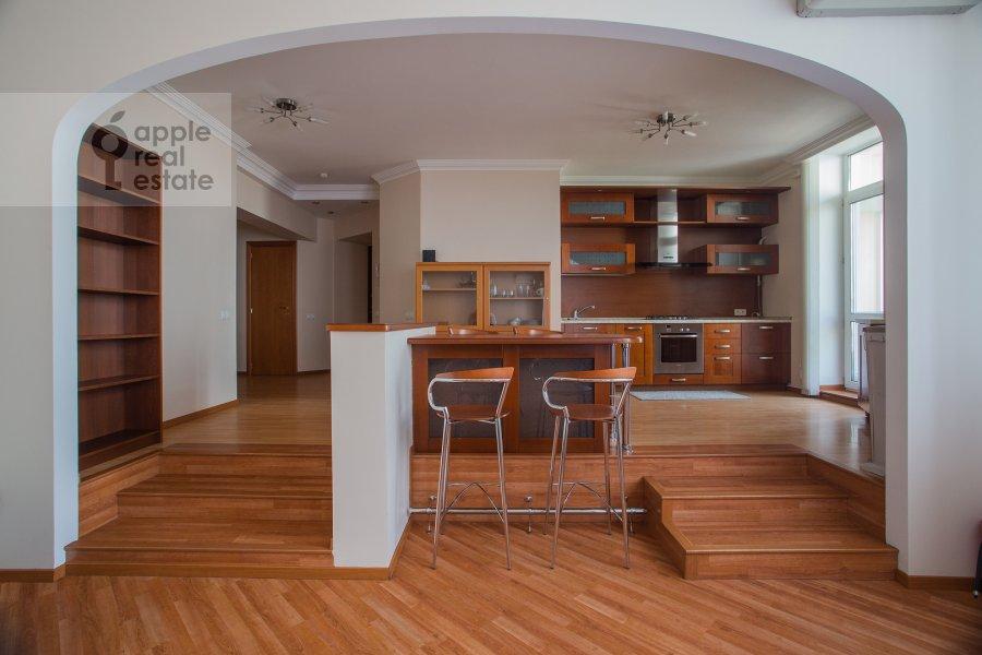Кухня в 3-комнатной квартире по адресу Поварская ул. 22