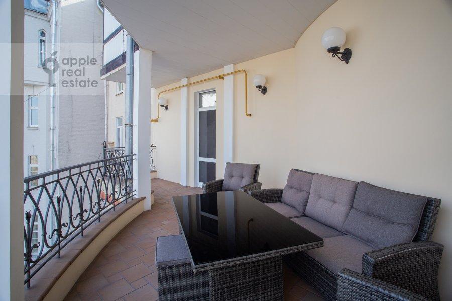 Балкон / Терраса / Лоджия в 3-комнатной квартире по адресу Поварская ул. 22