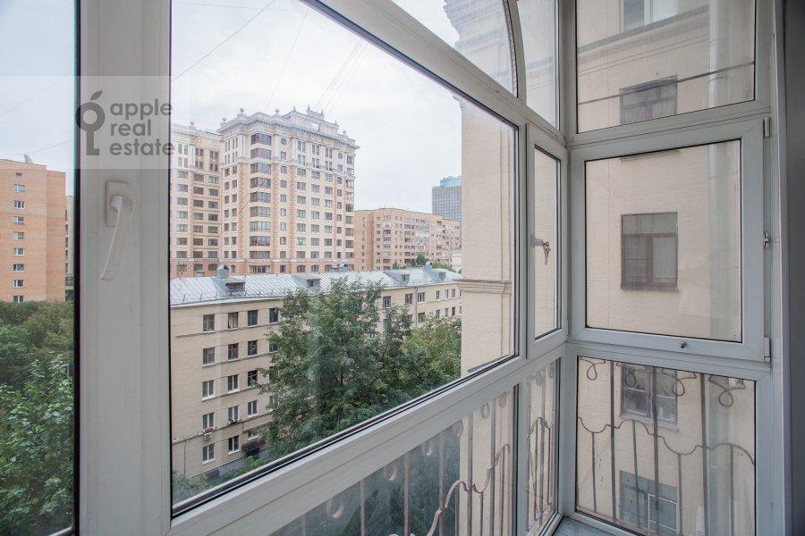 Balcony / Terrace / Loggia of the 4-room apartment at Smolenskaya naberezhnaya 5/13