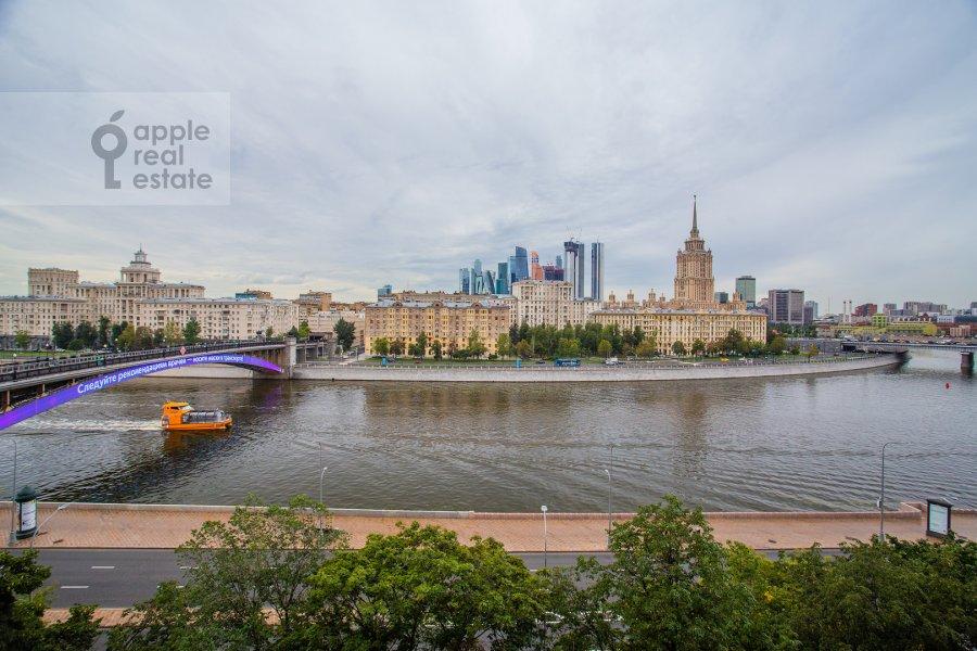 View from the window of the 4-room apartment at Smolenskaya naberezhnaya 5/13