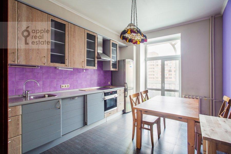 Kitchen of the 4-room apartment at Smolenskaya naberezhnaya 5/13