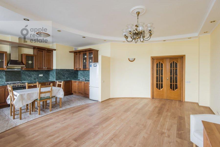 Гостиная в 3-комнатной квартире по адресу Ленинградский проспект 76к4
