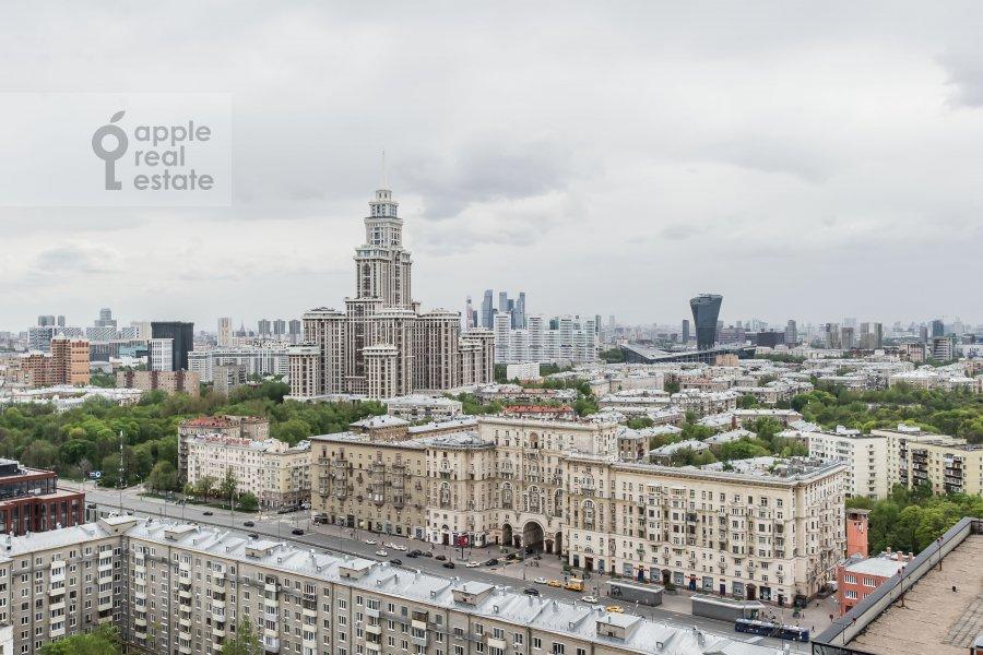 Вид из окна в 3-комнатной квартире по адресу Ленинградский проспект 76к4