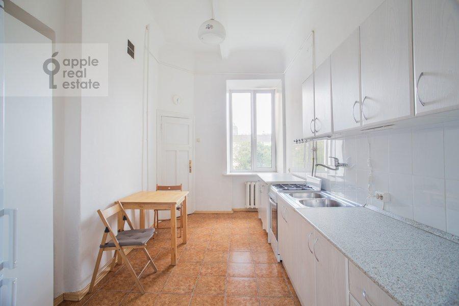 Kitchen of the 4-room apartment at Smolenskiy bul'v. 15