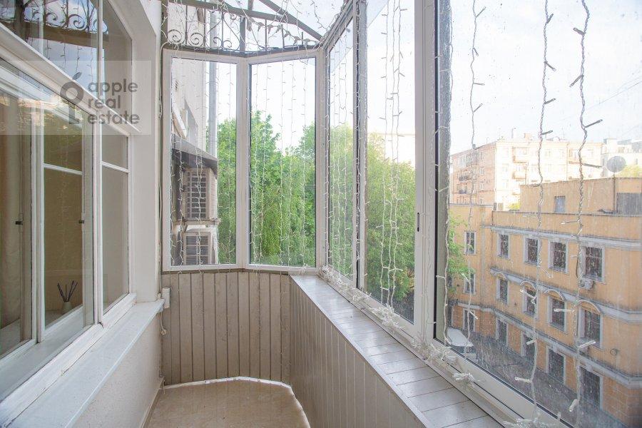 Балкон / Терраса / Лоджия в 5-комнатной квартире по адресу Скатертный пер. 22