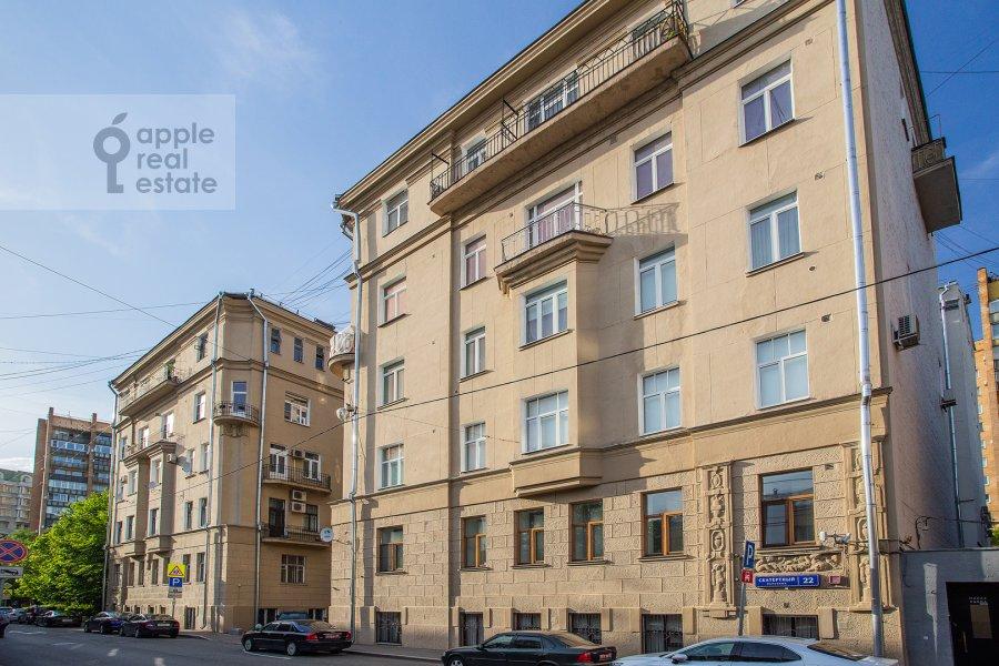 Фото дома 5-комнатной квартиры по адресу Скатертный пер. 22