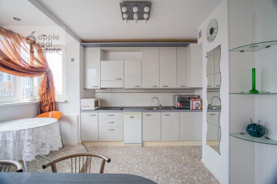 Kitchen of the 5-room apartment at Sergeya Makeeva 1