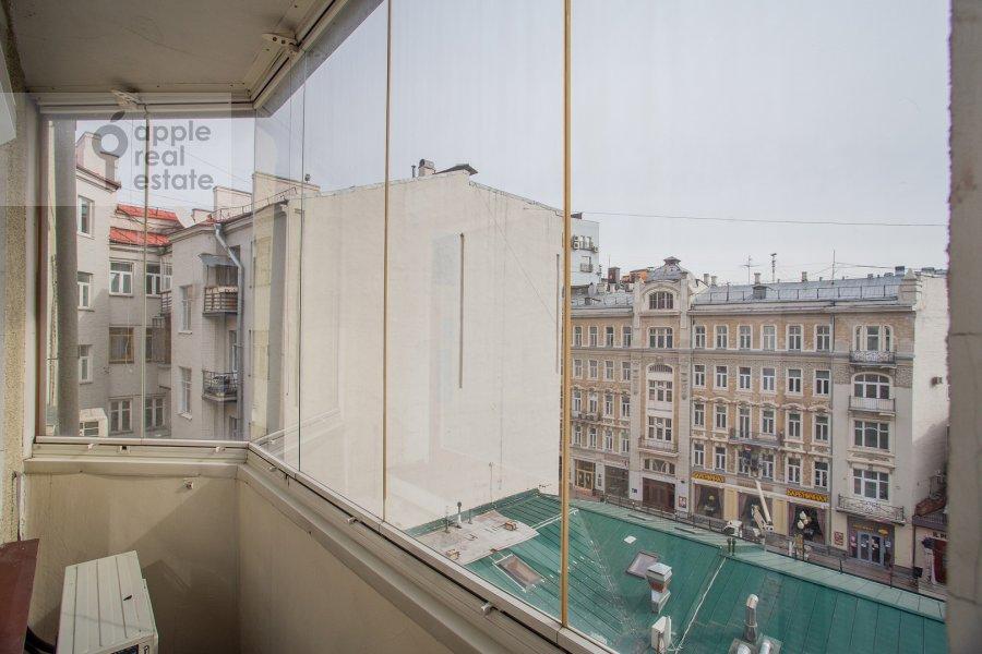 Балкон / Терраса / Лоджия в 3-комнатной квартире по адресу Николопесковский Малый пер. 4